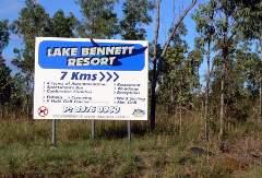 Lake Bennett Sign