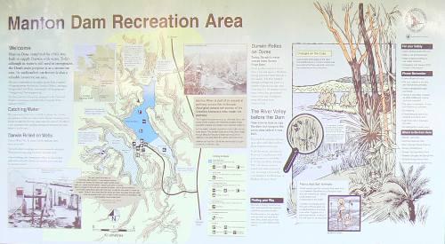 Manton Dam Display