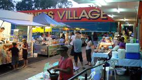 Monsoon markets at Rapid Creek