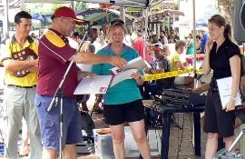 Cheques for Nightcliff projects