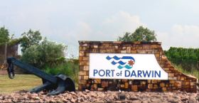 Port of Darwin Entrance