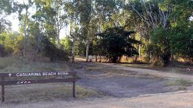 Tiwi Beach track to walk or ride to the sea
