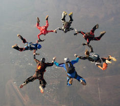 Parachute ring Batchelor