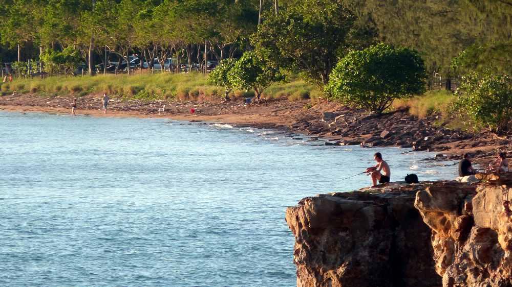 Fannie Bay beach view