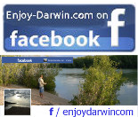 Enjoy Darwin on Facebook Logo