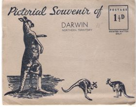 Cover of Darwin Postcard from about 1960 or 70