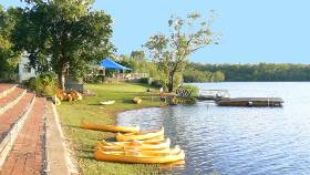 Swimming and Canoe hire