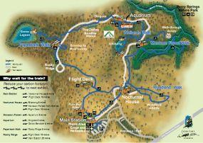 territory wildlife park map