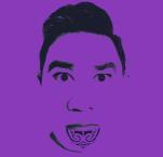 Purple Plastic Maori