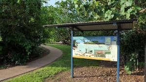 Buffalo Creek Information Board