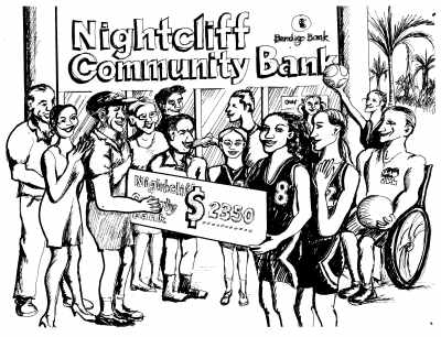 Community banking benefits the local community