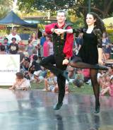 Irish Dancers at Seabreeze Festival