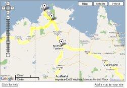 The roads to Darwin