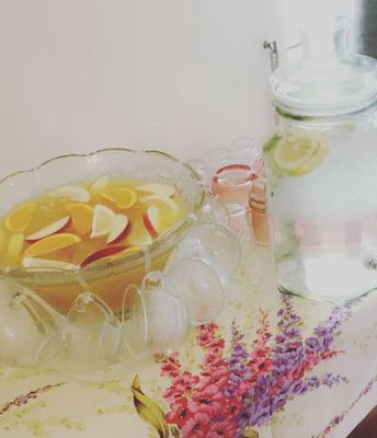 Punch bowls, drink dispensers