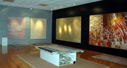 Aboriginal Desert Art on Display