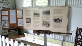 .50cal Browning Machine gun display