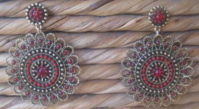 Filigree Ornate Latino Earrings