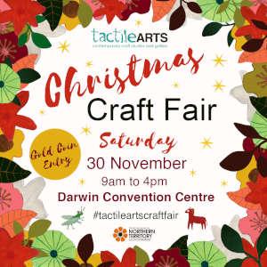Christmas Arts Fair promotion