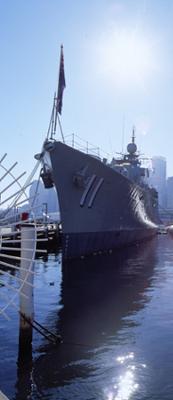 HMAS Vamire at the Australian National Maritime Museum