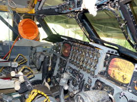 Inside the B52 Cockpit