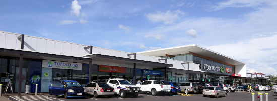 Palmerston Shopping District