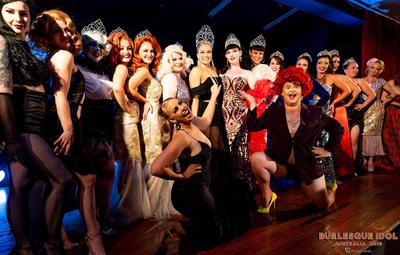 The 2019 Burlesque Idol Australia winners