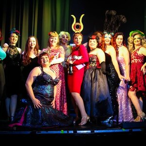 Burlesque Idol Newcastle winners