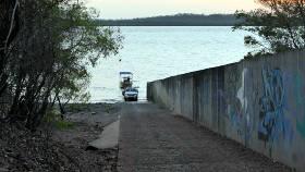Channel Island boat ramp