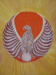 Chickenhawk painting