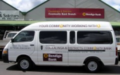 Coolalinga Community bank Bus