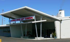 Darwin Cruise Ship Terminal Entrance