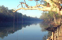 Daly River at Woolianna