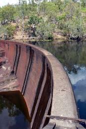 Manton Dam wall