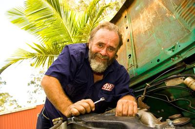 Come and Meet 4WD Legend John Rooth