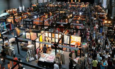 Overview of the Art Fair