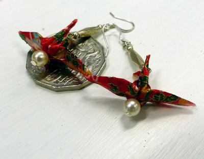 Hand made earings