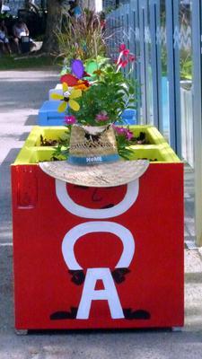 Fridges make handy planter boxes