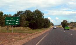 Road from Darwin