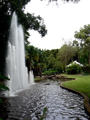 Fountains and Cottage