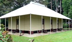 Historic Darwin Church restored and relocated to Darwin Botanic Gardens