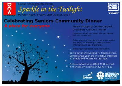 DCA Seniors Community Dinner