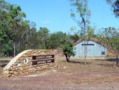 Entrance to Charles Darwin National Park