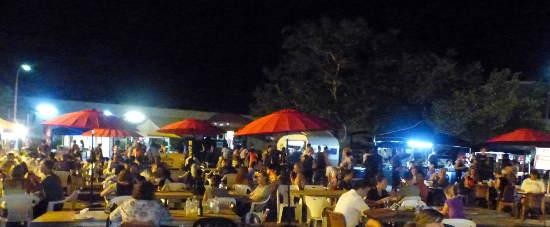 Malak evening markets