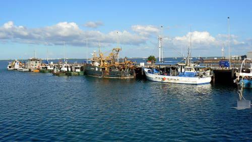 Boats at Fisherman's wharf, Darwin