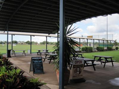 Our lovely facility includes 12 undercover golf hitting bays.