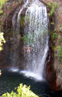 Florence Falls Jump