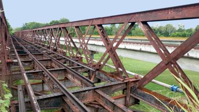 Adelaide River Railway Bridge 2012