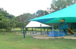Jingili playground and picnic tables
