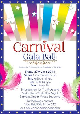 government house gala ball carnival spectacular