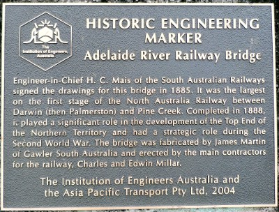 Historic engineering marker